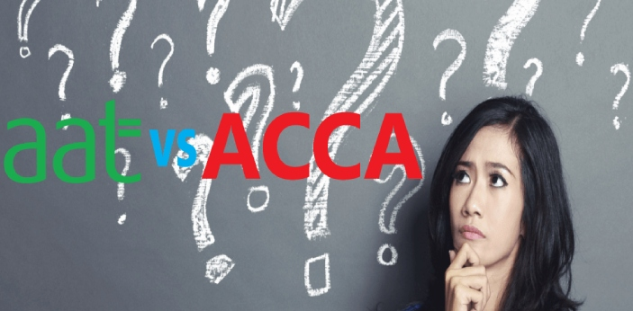 Both the AAT and the ACCA have many similarities. They both are associated with accounting and they