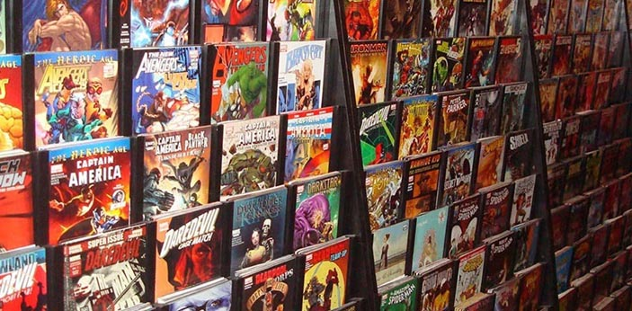 There was a time when it seemed that comic books have already started to lose their popularity. It