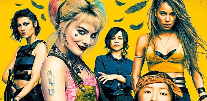 Birds of Prey is a contorted story told by Harley Quinn, and Birds of Prey is about an all-female