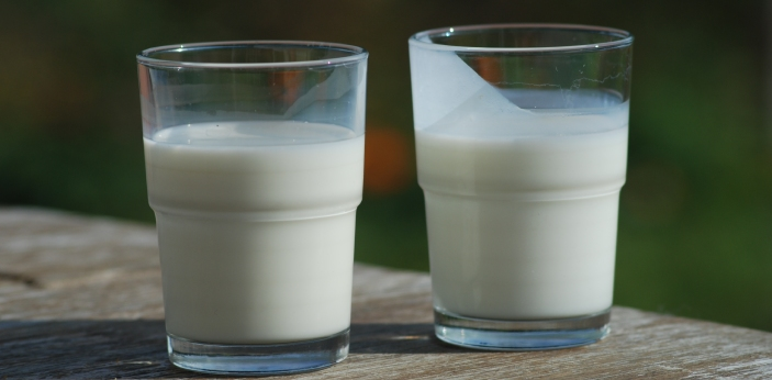 Buttermilk and yogurt are both dairy products. However, yogurt is much healthier. For starters,