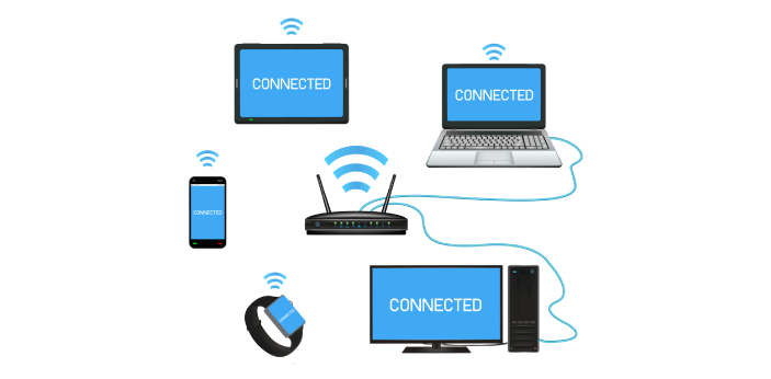 If you want to use your computer and get on the internet without having to hook it up to the router