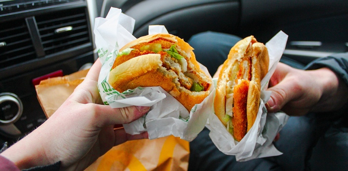 Just like fast food cups may be made of different materials, their lids may be also. A person would