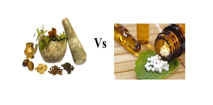Ayurveda and Homeopathy are two types of alternative medicines as they are usually called. Both