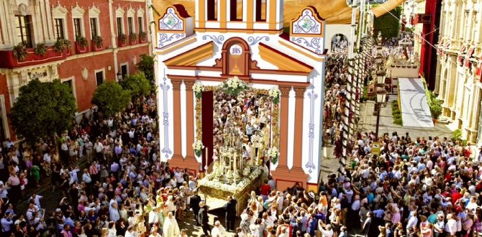 Corpus Christi is the type of celebration that commemorates that the Eucharist is also known as the