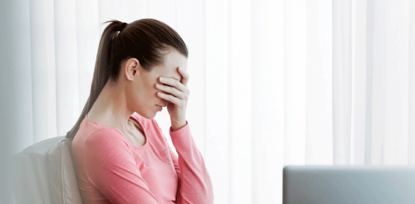 The main difference between stress and depression is that pressure can be a symptom of depression,