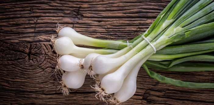 Onions and Scallions are two examples of vegetables. Scallions are also onions, and they are most