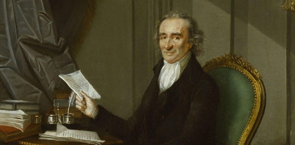 Thomas Paine was born in Great Britain but became a strong vocal supporter of the independence of