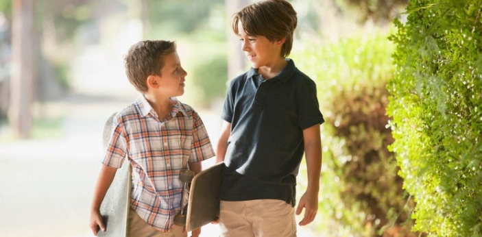 The idea of having a stepbrother or having a half-brother comes when there's either divorce