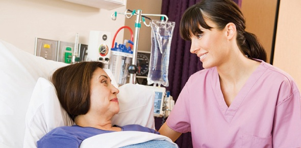 Which statement by a nurse would be correct when teaching a patient about incentive spirometer?