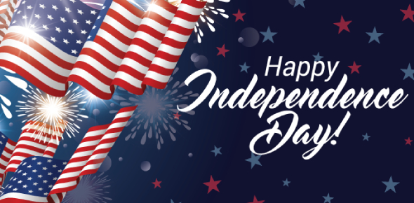 The United States celebrate the Independence Day annually on July 4. The celebration is done mainly