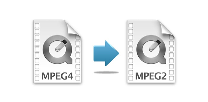 When televisions went digital, they used a format called MPEG-2. It allowed the movies and