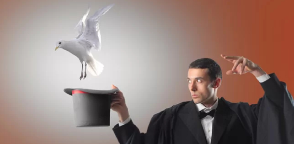 Do you think magicians actually have powers?