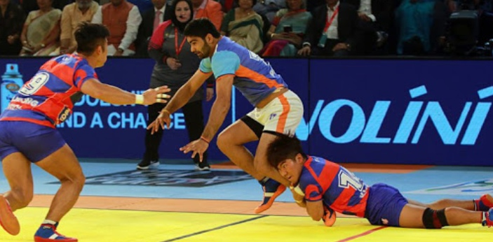 The least played sport in the world is kabaddi, which is basically the national sport of