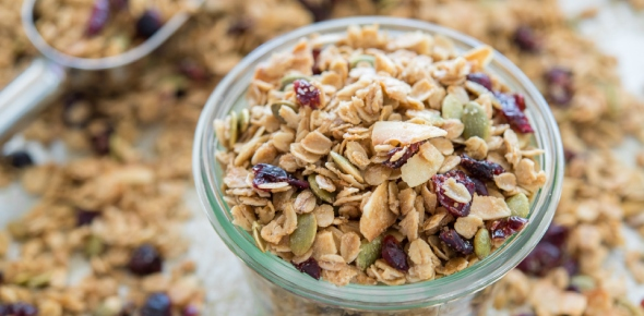 What is the difference between other cereals and muesli?