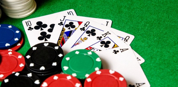 Poker is a game of skill not luck, when playing poker; you play against other players not the house