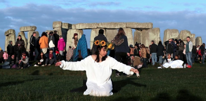 """Summer solstice originates from the Latin words """"sol"""" and """"sistere"""". Sol"""