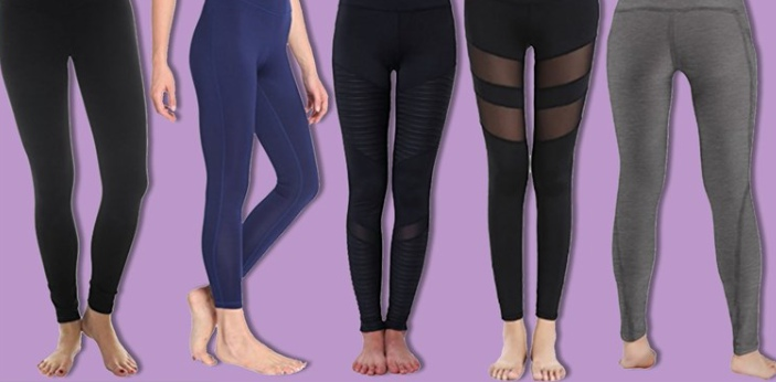 Yoga pants and leggings are two types of clothes that are worn by people when performing yoga