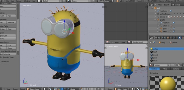 What are the best specifications for 3D modeling software?