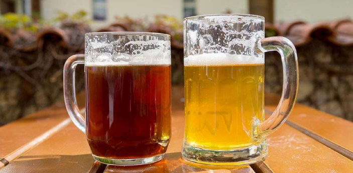 Beer is a beverage made from yeast, hops, malt, and water. It contains a certain amount of alcohol.