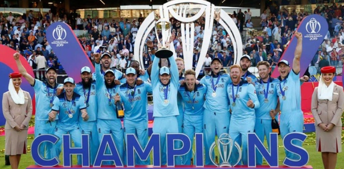 Right now, England is ranked in second place in the 2019 ICC Cricket World Cup. They have won two