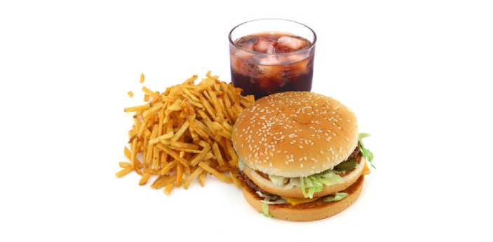 Fast food makes you fat because of the high content of fat in their foods. There is also sugar in