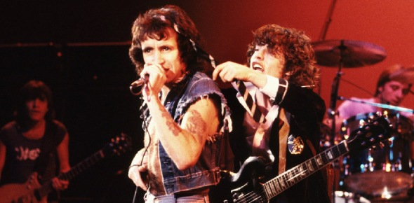 ACDC put out their first album in 1975. Then, in 1980, their lead singer died of alcohol poisoning.
