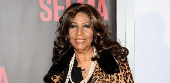 How did Aretha Franklin's fans say goodbye to her?