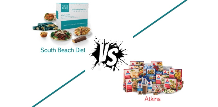 South Beach and Atkins are two types of diets for people who desire to lose weight. Both South