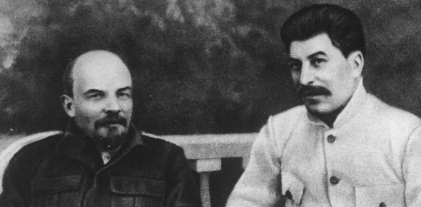 Lenin was not a murderer for starters. He had ideals rather than naked ambition. He was a visionary