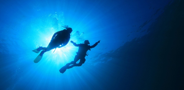 What is the deepest depth a deep sea diver has gone?