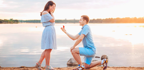 The song that you should play while proposing to your girlfriend should be the song that best