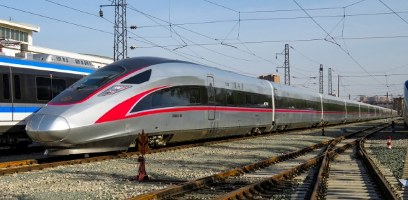 Today there are many trains that are very fast. They are known as bullet trains. They were invented
