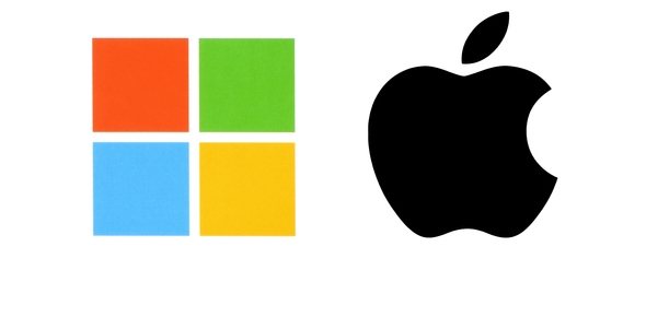Why did Microsoft fail to compete with Apple?