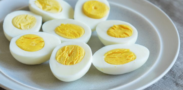 Boiled eggs are usually made without butter or oil which generally makes them healthier than other