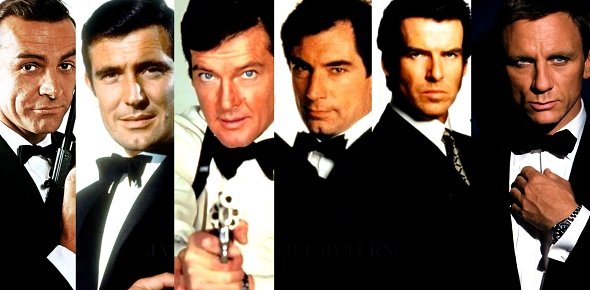 Which actor was the greatest James Bond in your eyes?
