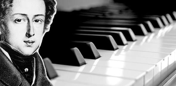 Did Chopin write orchestral pieces?