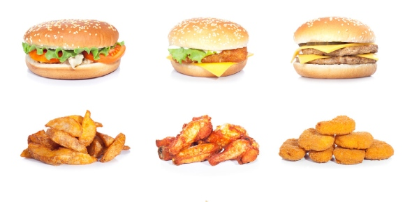 What animals can consume fast food?