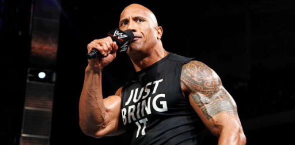 Why did Dwayne give up WWE?