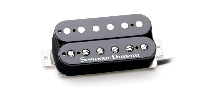 Pickups are electronic devices for detecting sounds, vibration, etc.; an example is the one fitted