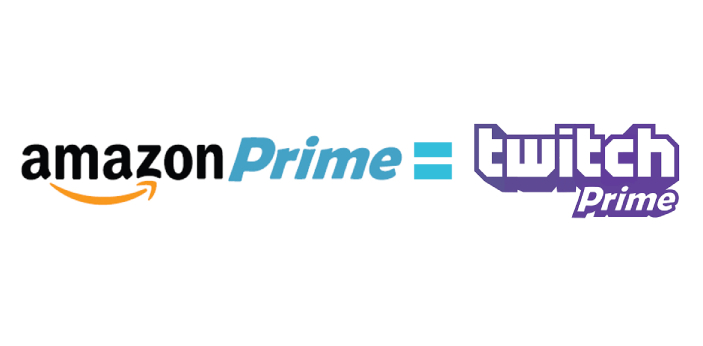 Twitch Prime and Amazon Prime are two different things that fit into one picture. Twitch Prime