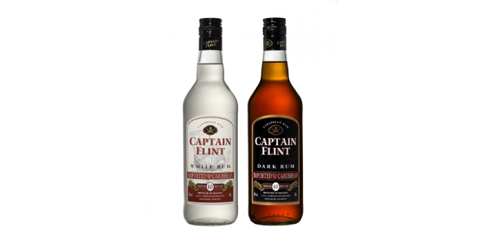 Rum may usually start as somewhat light-colored but the more that it is aged, the more that its