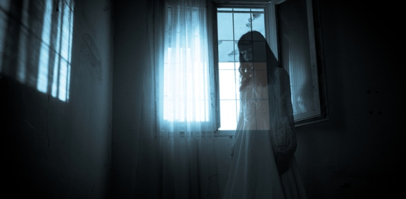 Would you be scared if a ghost talked to you?
