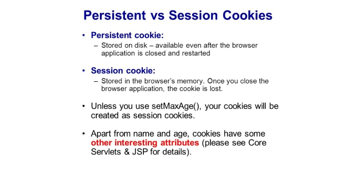 You may think that the cookie refers to something that you can eat but cookie and session are terms