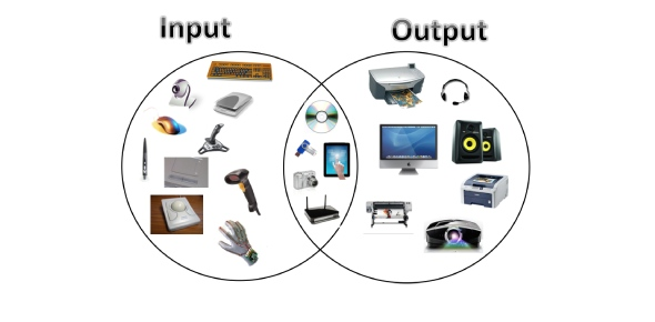 What are the input and output devices?