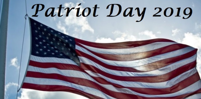Some people may become confused with Patriot's Day and Patriot Day. These are not the same.