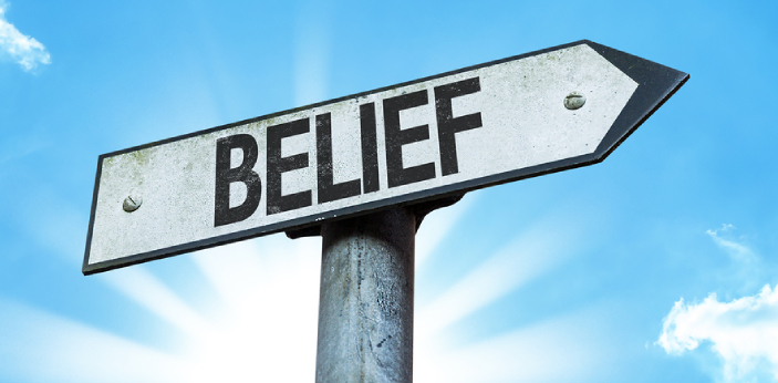 A belief is known to be an internal thought or a type of memory that already exists in your mind.