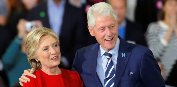 Hilary and Bill Clinton have been married for a very long time. They were married in 1975 which is