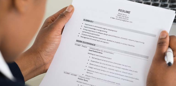 There is no specific way to write a CV. It most contain all the necessary details about you that an