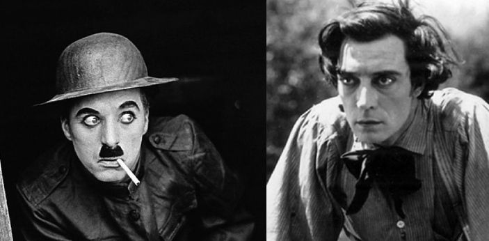 Charlie Chaplin and Buster Keaton are considered to be the best actors of the silent film era.