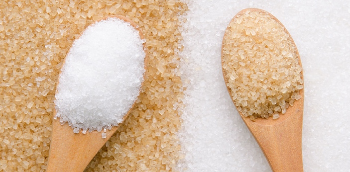 White Sugar and Brown Sugar are two different types of sugar. Sugar generally, is gotten from sugar